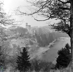 Hornby Castle and River Wenning